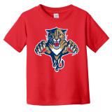 Florida Panthers Toddler Retro Red Shirt