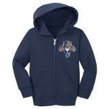Florida Panthers Toddler Retro Hood Full Zip Sweatshirt