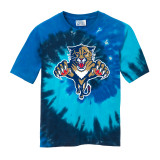 Florida Panthers Youth Retro Ocean Tie-Dye Shirt