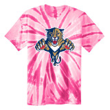 Florida Panthers Youth Retro Pink Tie-Dye Shirt