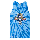 Florida Panthers Retro Royal Tie-Dye Tank