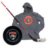 Florida Panthers Aaron Ekblad Game Used 2020 Qualifying Round Collection