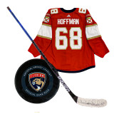 Florida Panthers Mike Hoffman Game Used Power Play Collection