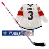 Florida Panthers Keith Yandle Game Used 2020 Qualifying Round Collection