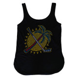 Florida Panthers Women's Palm Tree Crystals Tank