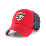 Florida Panthers Trawler Red & Navy Fatigue Cap