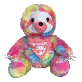 Florida Panthers Plush Rainbow Sloth