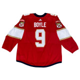 Florida Panthers Brian Boyle Game Used Home Jersey - Set 1