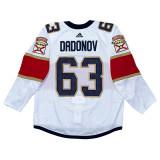Florida Panthers Evgenii Dadonov Game Used Away Jersey - Set 1