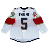 Florida Panthers Aaron Ekblad Game Used Away Jersey - Set 1
