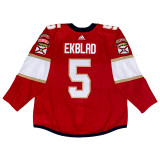 Florida Panthers Aaron Ekblad Game Used Home Jersey - Set 1