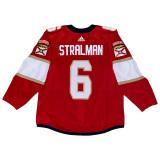Florida Panthers Anton Stralman Game Used Home Jersey - Set 1