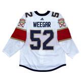 Florida Panthers Mackenzie Weegar Game Used Away Jersey - Set 1