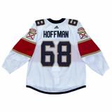 Florida Panthers Mike Hoffman Game Used Away Jersey - Set 2