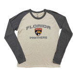 Florida Panthers Passport Raglan Long Sleeve Shirt