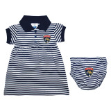 Florida Panthers Infant Striped Dress with Bloomer
