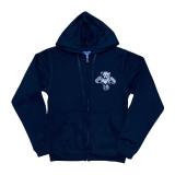 Florida Panthers Helmet Logo Full Zip Hood Sweatshirt