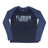 Florida Panthers Block Raglan Long Sleeve Shirt
