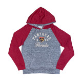 Florida Panthers Women's Raglan Hood Pullover Sweatshirt