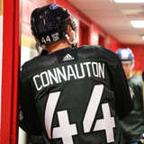Florida Panthers #44 Kevin Connauton Game-Used 2021 Military Appreciation Warmup Jersey (Autographed)