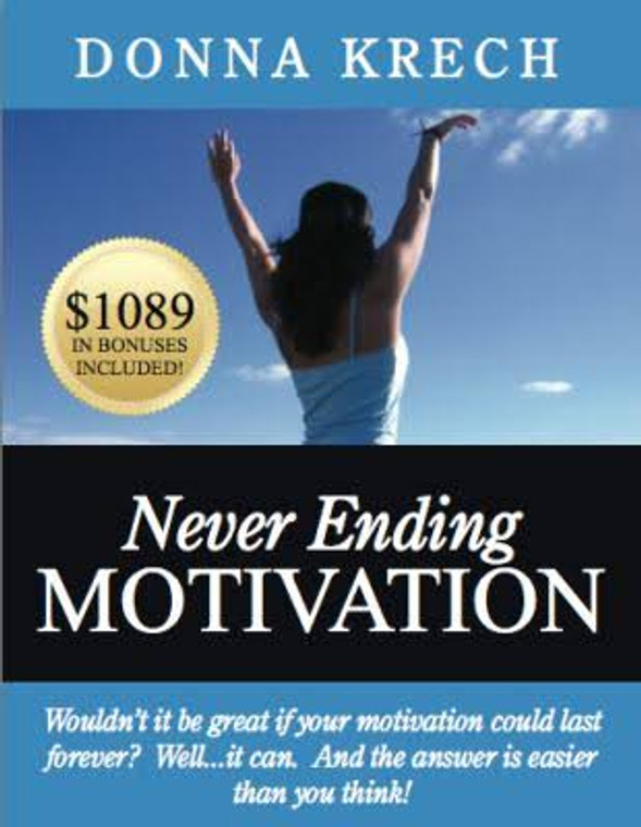 Never Ending Motivation Book