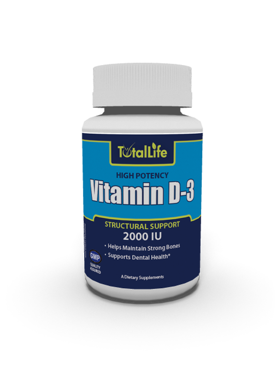 Vitamin D-3, 2000 IU