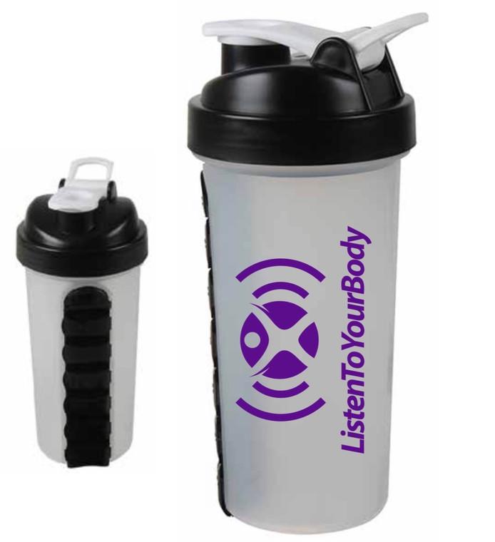 Listen To Your Body - 28oz Shaker Bottle