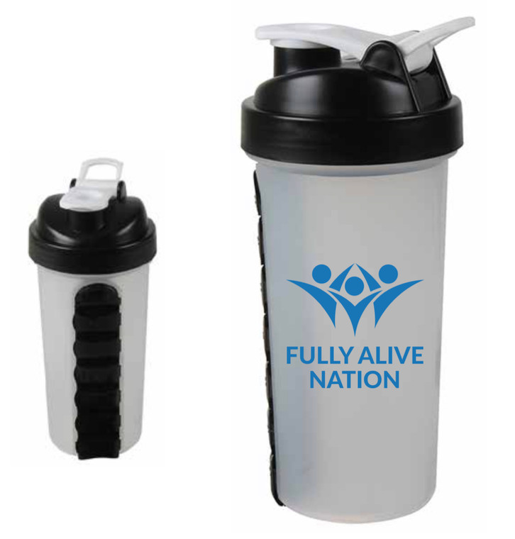 Fully Alive Nation - Shaker Bottle 28oz