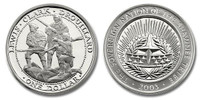 Shawnee Nation 2003 Lewis and Clark and Drouillard Dollar Silver Proof Coin