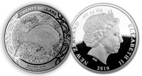 New Zealand 2019 Kiwi 1 Kilo Silver High Relief Proof Coin