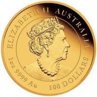 Australia 2020 Year of the Mouse 1 oz Gold BU Coin - Series III