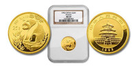 China 1993 Panda 1/4 oz Gold Coin - NGC MS-69