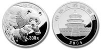 China 2004 Panda 1 Kilo Silver Proof Coin
