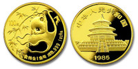 China 1985 Panda 1 oz Gold BU Coin