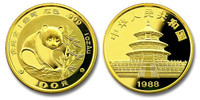 China 1988 Panda 1 oz Gold BU Coin