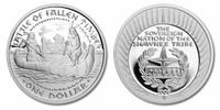 Shawnee Nation 2009 Battle of Fallen Timber Silver Dollar Proof Coin