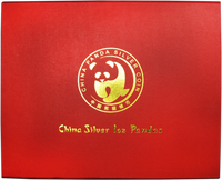 Box - China 1989-Present Panda 1 oz Silver BU or Proof 40-Coin Presentation Box