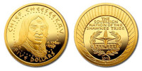 Shawnee Nation 2010 Chief Cheeseekau Five Dollar 1/5 oz Gold Proof Coin