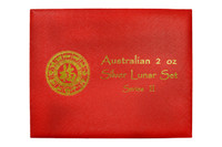 Presentation Box - Australia 2008-2019 2 oz Silver BU 12-Coin Set - Series II