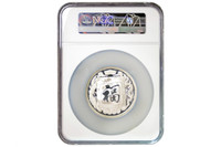 China 1989 Zhao Gongming 3.3 oz Silver Medal - God of War and Wealth - NGC PF-68 Ultra Cameo