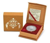 Poarch Creek Indians 2004 Peace 1 oz Silver Dollar BU Coin