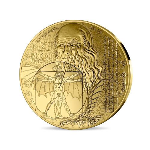 France 2019 The Joconde 1 Kilo Gold High Relief Proof Coin - Mona Lisa
