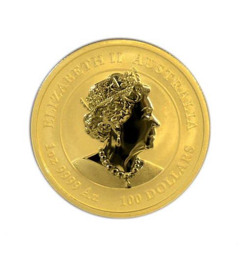 Australia 2021 Year of the Ox 1 oz Gold BU Coin - Series III