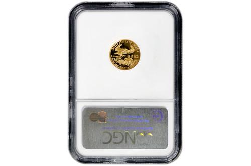 USA 1993 Eagle 1/10 oz Gold Proof Coin - NGC PF69 Ultra Cameo