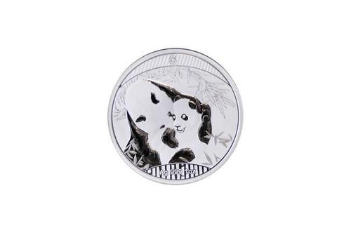 China 2018 Panda Singapore International Coin Fair SICF - 1 oz Silver Proof Medal