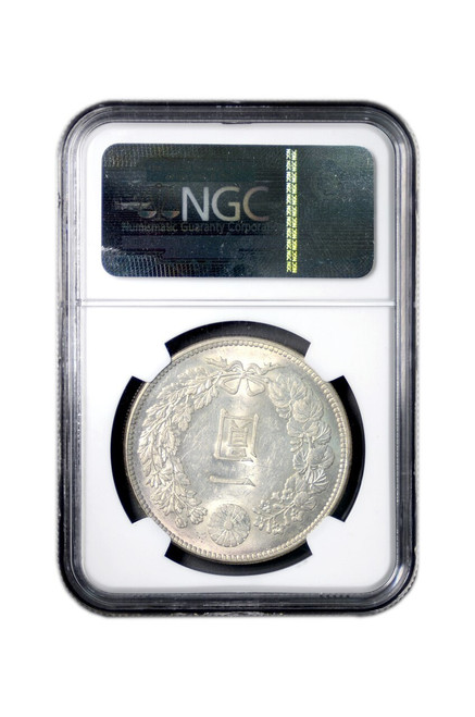 Japan M38 1905 1 Yen Silver Coin NGC Graded MS-62