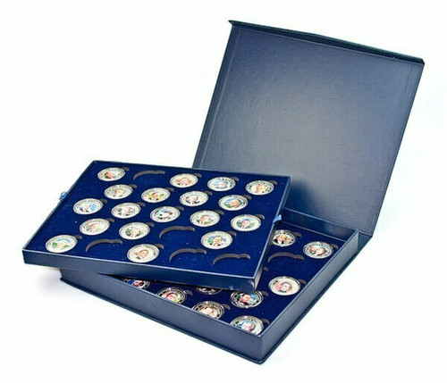 Presentation Box - Liberia 2010 Presidential Series Silver Plated Coin and Medal 45-pc Set
