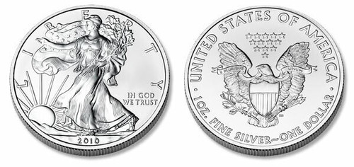 USA 2012 Eagle 1 oz Silver BU Coin or date of our choice