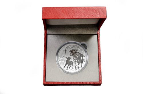 Presentation Box - Australia Lunar Zodiac 1 oz Silver BU Coin - Series I and III