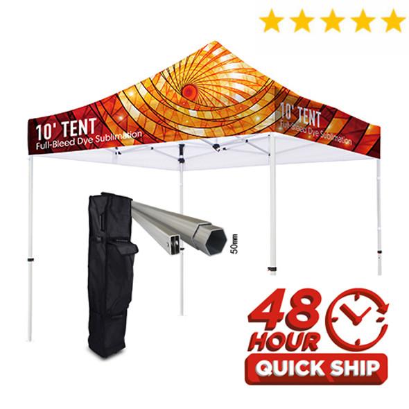 Premium HD 10' Event Tent (Full Color)